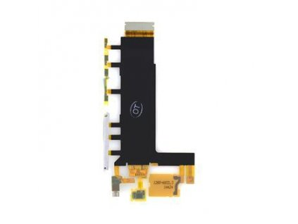 52149 2 flex kabel sony xperia z3 d6603 bocnich tlacitek vc vibracniho motorku a mikrofonu original