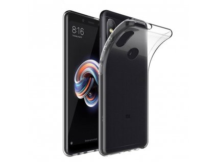 81815 1 forcell pouzdro back ultra slim 0 5mm xiaomi redmi note 5 transparentni