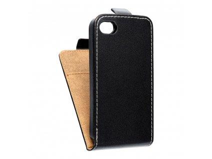 3424 2 forcell pouzdro slim flip flexi fresh pro iphone 4 4s cerne