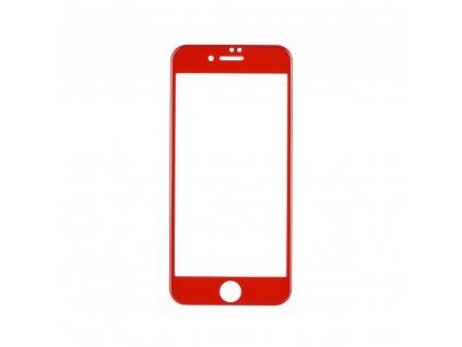 68726 1 forcell tvrzene sklo 5d full glue pro apple iphone 7 8 4 7 cervene