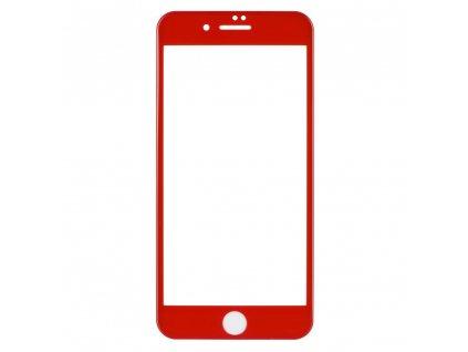 68681 1 forcell tvrzene sklo 5d full glue pro apple iphone 7 8 plus cervene