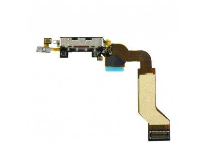 iphone 4s flex kabel konektor nabijeni cerna w1200 cfff