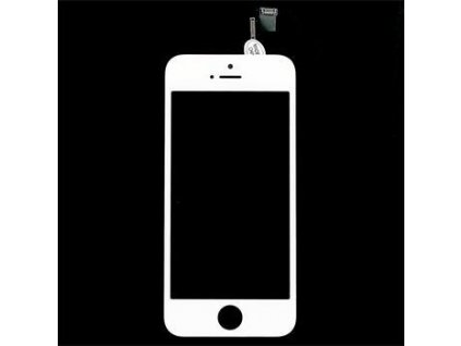 30346 1 iphone 5s lcd display dotykova deska sklo bile oem