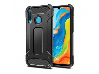 116969 2 obrnene pouzdro forcell armor huawei p30 lite cerne