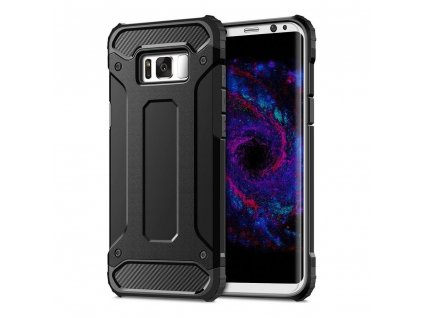 66241 obrnene pouzdro forcell armor samsung galaxy s8 cerne