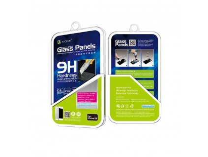 27778 2 ochranne tvrzene sklo x one premium glass 0 2mm pro iphone 6 6s plus 5 5 9h