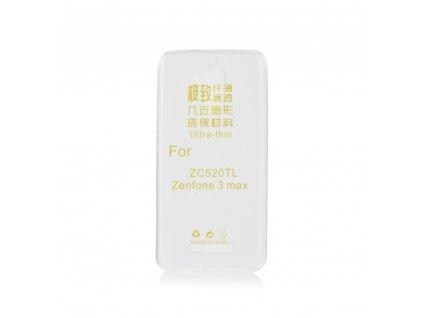 51859 1 pouzdro back case ultra slim 0 3mm asus zenfone 3 max zc520tl transparentni