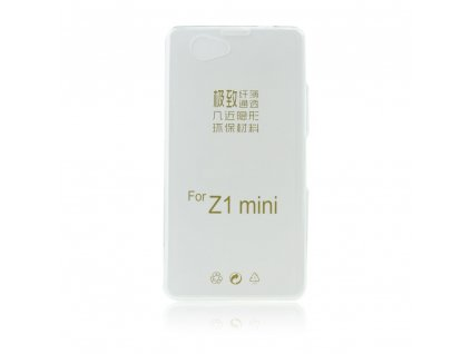 13213 1 pouzdro back case ultra slim 0 3mm sony d5503 xperia z1 compact transparentni