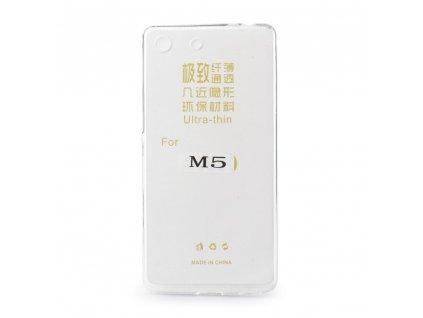 13231 1 pouzdro back case ultra slim 0 3mm sony e5603 xperia m5 transparentni