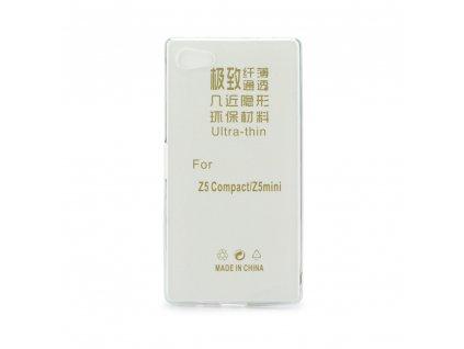 13234 1 pouzdro back case ultra slim 0 3mm sony e5803 xperia z5 compact transparentni