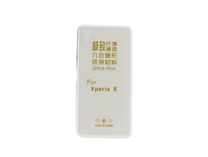 22057 1 pouzdro back case ultra slim 0 3mm sony f5122 xperia x transparentni