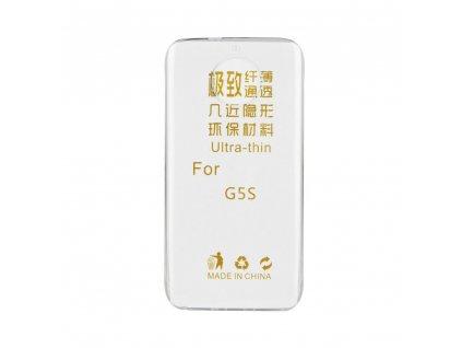 87624 pouzdro back case ultra slim 0 3mm lenovo moto g5s transparentni
