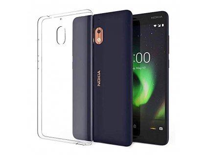 87669 pouzdro back case ultra slim 0 3mm nokia 2 1 2 2018 transparentni