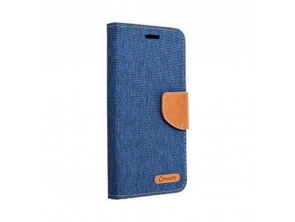 23791 pouzdro canvas mercury book apple iphone 6 6s modre