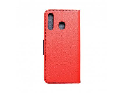 118610 pouzdro fancy book samsung a30 red navy