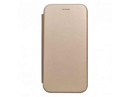 121067 pouzdro forcell book elegance samsung a40 zlate