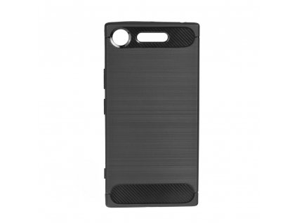 70647 1 pouzdro forcell carbon back cover pro sony xperia xz1 cerne