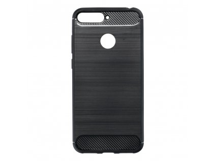 88785 3 pouzdro forcell carbon huawei y6 prime 2018 cerne