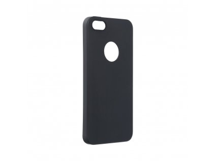 74288 1 pouzdro forcell soft apple iphone 5 5s se cerne