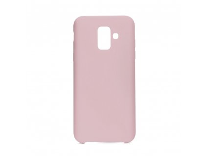 90135 pouzdro forcell soft touch silicone samsung galaxy a6 2018 ruzove