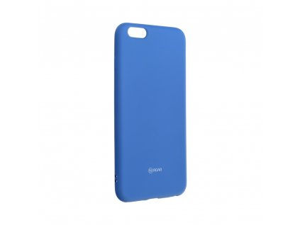 28678 pouzdro roar colorful jelly case apple iphone 6 6s plus modre