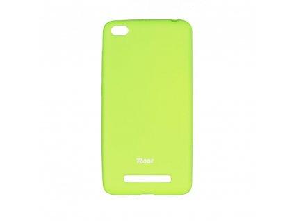71458 1 pouzdro roar colorful jelly case pro xiaomi redmi 4a limonka