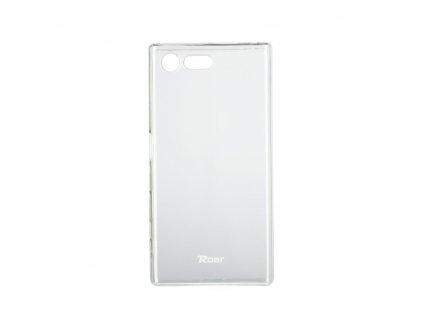 76583 1 pouzdro roar transparent tpu case pro sony xperia x compact transparentni