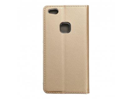 64350 2 pouzdro smart case book huawei p10 lite zlate