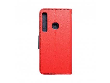 108413 3 pouzdro typu kniha fancy samsung a9 2018 cervene modre