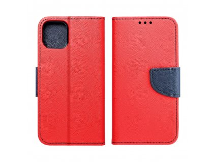 92214 pouzdro typu kniha fancy xiaomi redmi 6 cervene navy blue