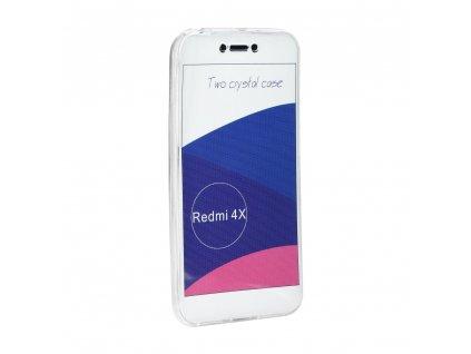 69895 1 silikonove pouzdro 360 full body soft case pro xiaomi redmi 4x transparentni