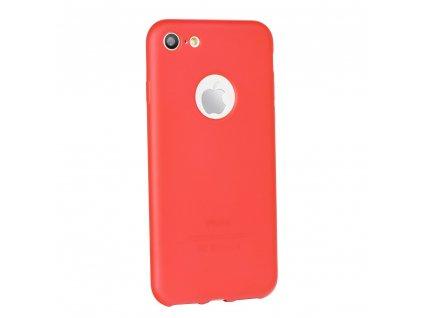 68222 silikonove pouzdro jelly case flash mat pro apple iphone x cervene