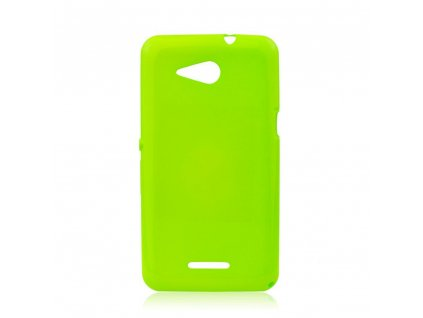 19696 silikonove pouzdro jelly case flash pro sony e2003 xperia e4g limonka fluo