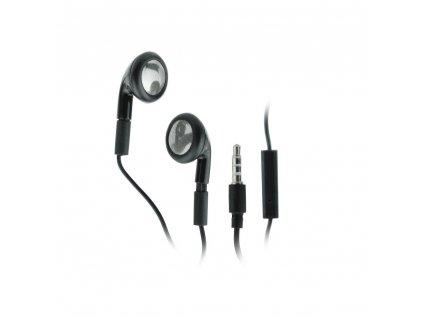 24370 1 stereo sluchatka handsfree bluestar stereo apple iphone 3g 3gs 4g bulk cerne