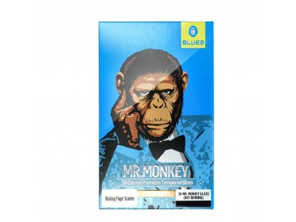 96912 3 tvrzene sklo 5d mr monkey glass apple iphone xs max 6 5 cerne hot bending