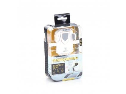 81921 1 univerzalni drzak mobilu navigace do auta remax rm c26 bily