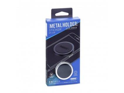 81915 3 univerzalni remax magneticky drzak mobilu do auta rm c30 stribrny