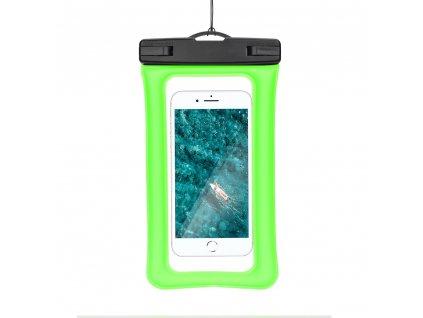 130484 vodotesne pouzdro airbag s plastovym uzaverem zelene