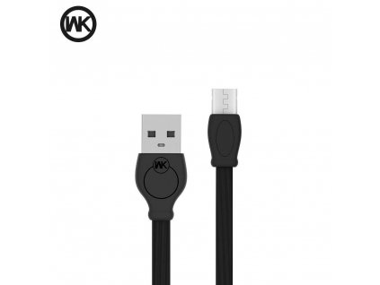 101724 3 wk design rychly usb kabel micro usb wdc 023 3 metry cerny