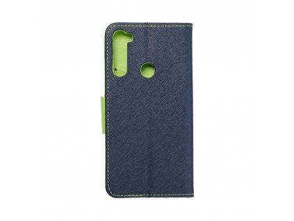 137054 pouzdro fancy book xiaomi note 8 navy blue limonka