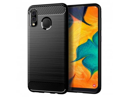 110846 pouzdro forcell carbon huawei p smart 2019 cerne