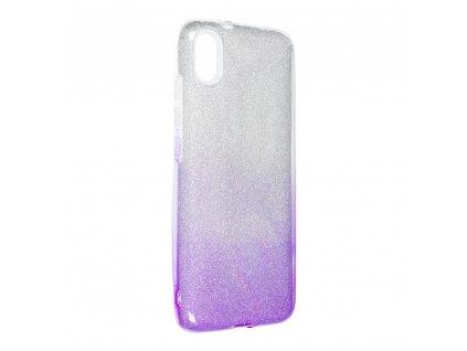 141800 1 pouzdro forcell shining xiaomi redmi 7a transparent fialove