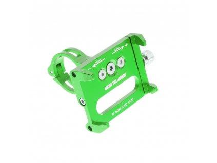 130946 3 drzak na kolo metal pro mobilni telefon zeleny