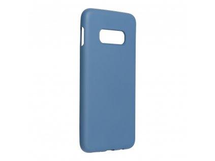 143735 1 pouzdro forcell silicone lite samsung galaxy s10e modre