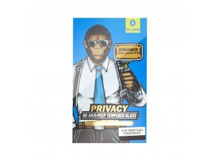 142886 2 tvrzene sklo 5d mr monkey glass apple iphone x xs 11 pro cerne strong privacy