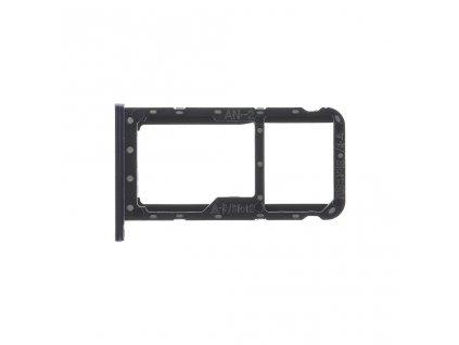 Original Huawei P20 Lite Držák SIM / Paměťové karty černá