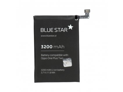 158519 2 baterie pro oneplus 2 3200 mah li ion blue star