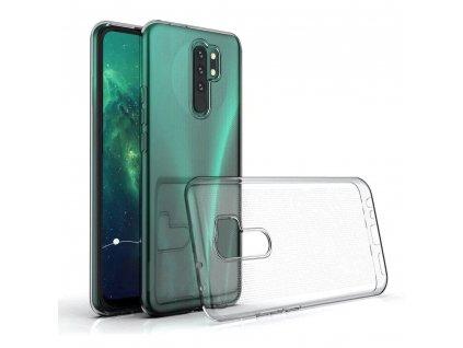 158546 3 forcell pouzdro back case ultra slim 0 5mm xiaomi redmi 9 transparentni