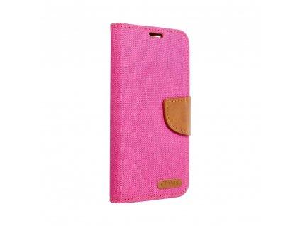 160313 3 pouzdro canvas mercury book appple iphone 12 pro max ruzove