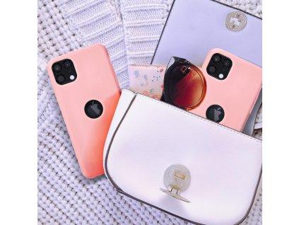 159695 3 pouzdro forcell soft touch silicone apple iphone 12 pro max praskova ruzova